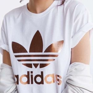 Adidas Rose Gold T-Shirt